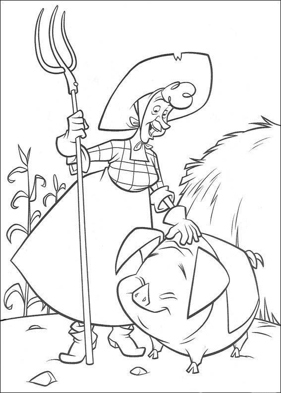 Dibujos para Colorear Zafarrancho en el Rancho 10 | Dibujos para ...