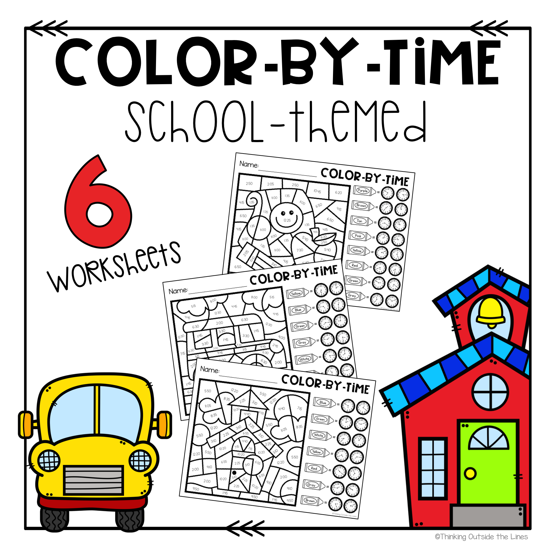 These No Prep Time Worksheets Are Great For Morning Work