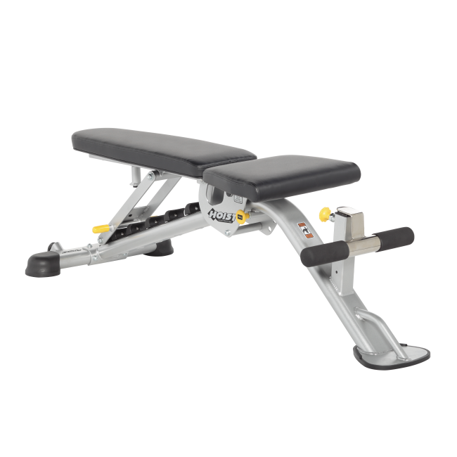 Hoist Hf 5165 7 Position Fid Bench Gym Source At Home Gym Weight Benches Strength Training Equipment