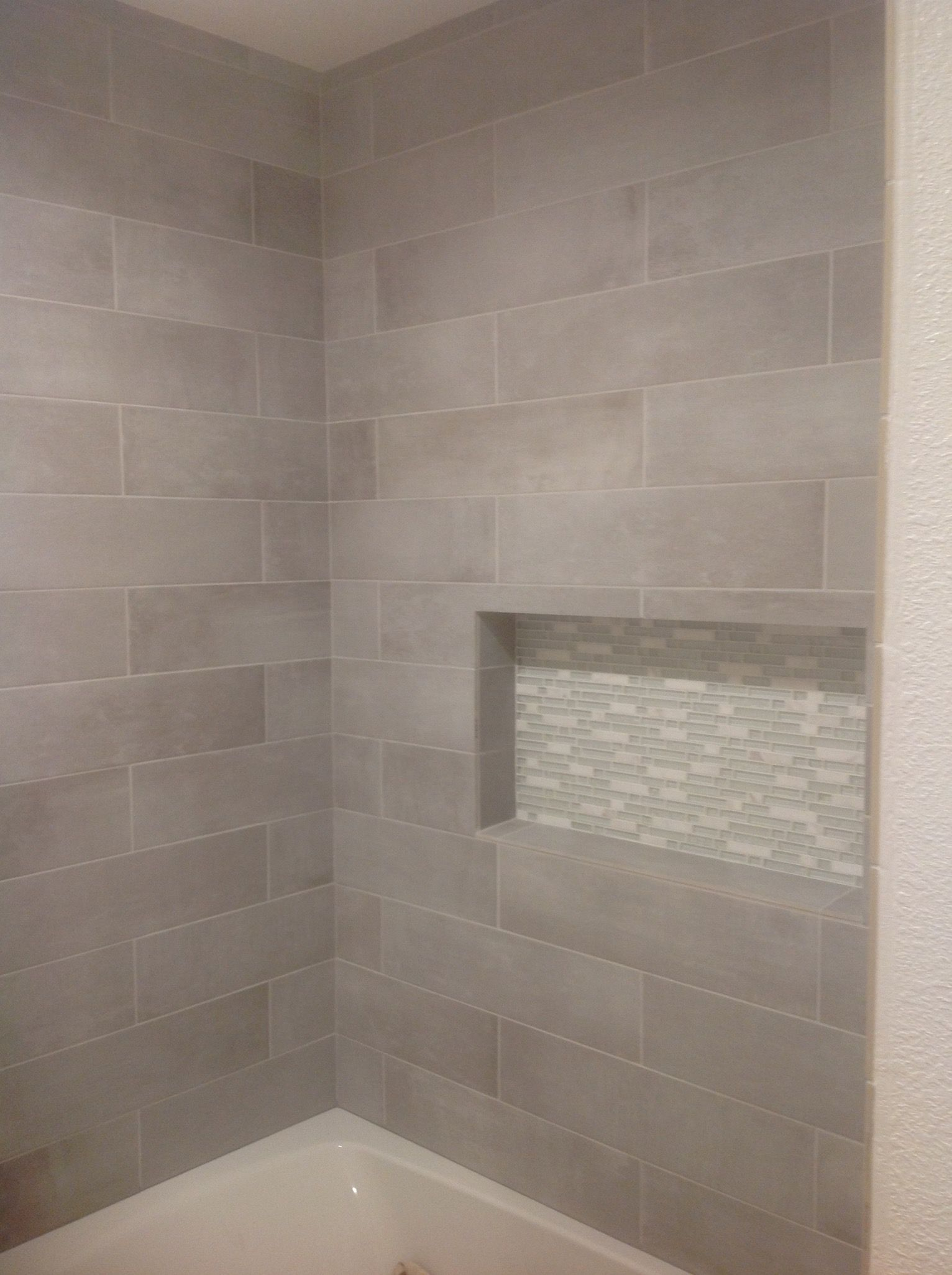 Cityside Gray Porcelain Tile from Lowes | bathroom | Pinterest ...