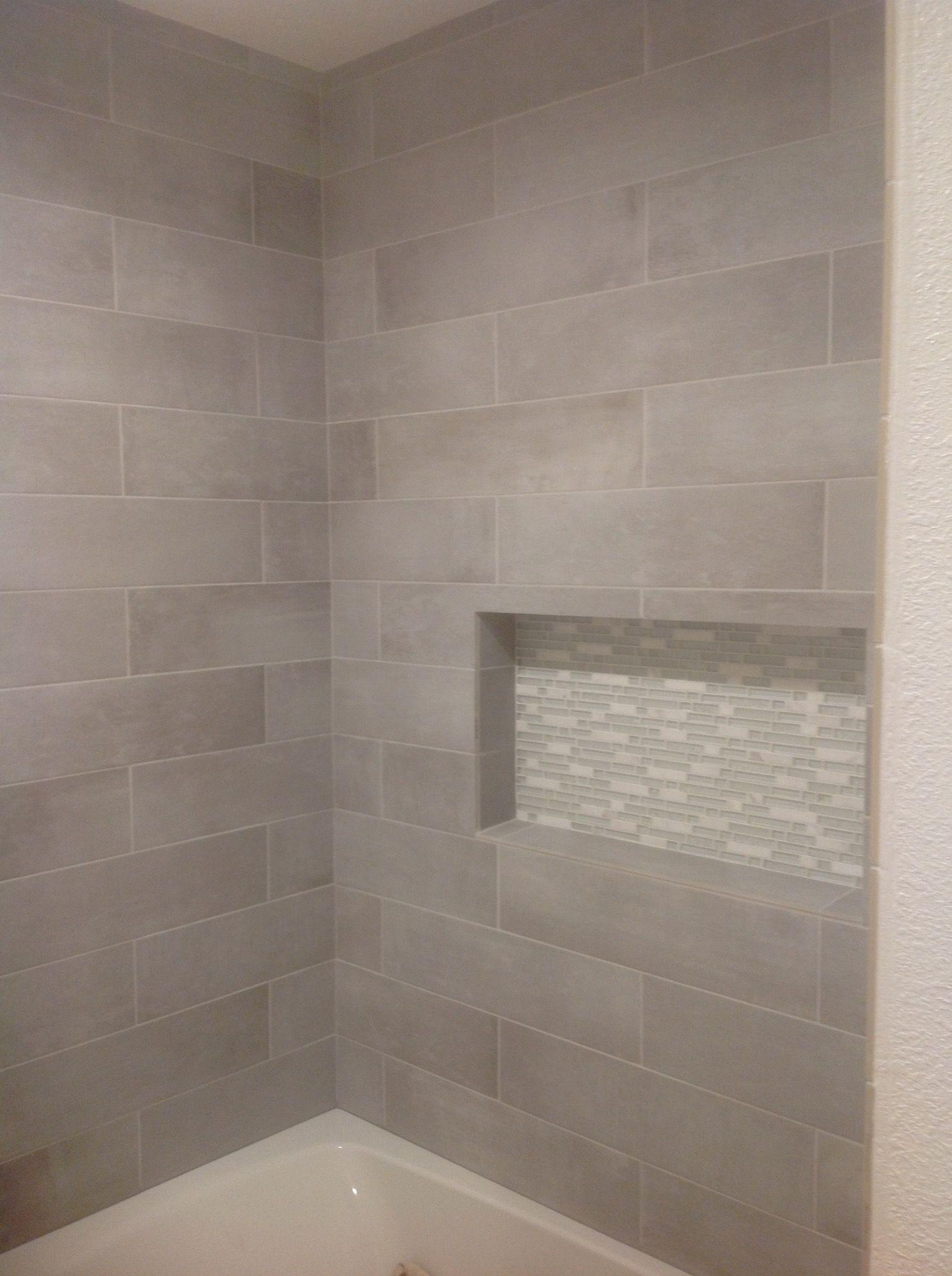 Cityside Gray Porcelain Tile From Lowes Small Bathroom Bathroom
