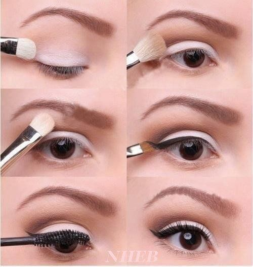 50 tutos maquillage naturels pour les pressées du matin! Tuto Maquillage  Yeux MarronMaquillage