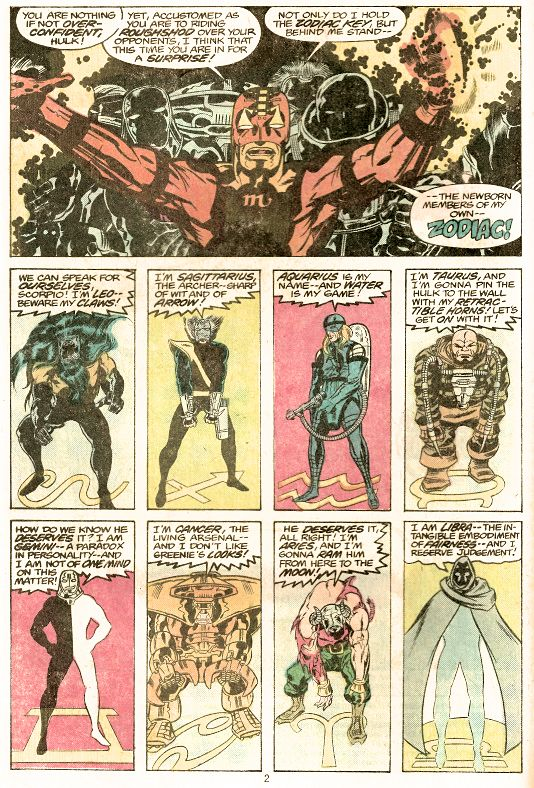 Image result for marvel zodiac keith giffen