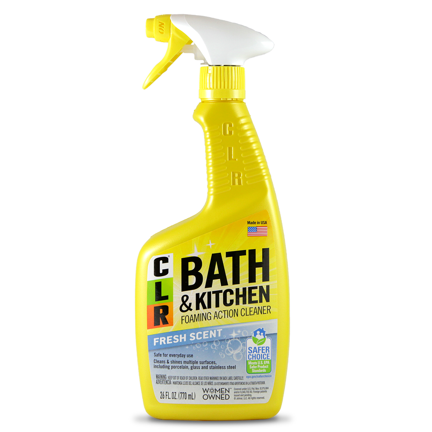 Clr Bath Kitchen Cleaner Is A Multipurpose And Multi Surface Cleaner That Has A Powerful Foam Spray Formulated Bathroom Cleaner Kitchen Cleaner Grout Cleaner