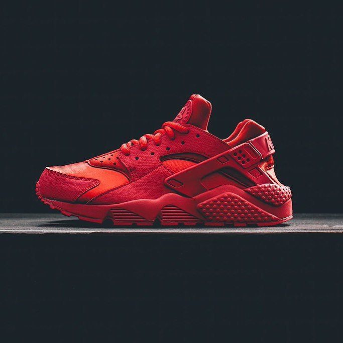 Ruby Red just for the ladies. The Nike Air Huarache
