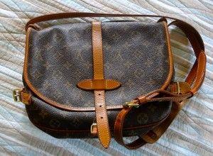 38abe10fb4cb Vintage Louis Vuitton crossbody bag from Ebay