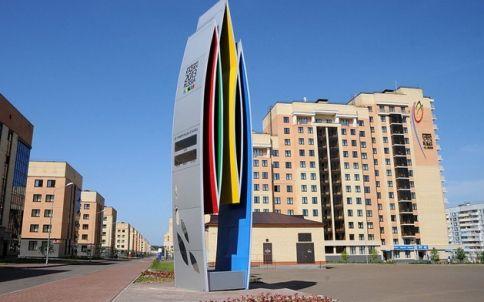 Sports complex Burevestnik in Kazan. Hosted summer World Student Games. Great swimming pools.