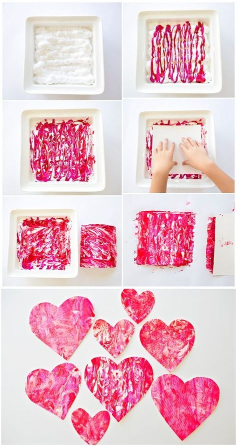VALENTINE SHAVING CREAM HEART ART WITH KIDS - Valentine art projects, Valentines for kids, Valentine crafts for kids, Valentines art, Preschool valentines, Valentine's day crafts for kids - VALENTINE SHAVING CREAM HEART ART WITH KIDS