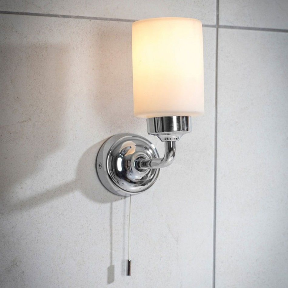 Greenwich Bathroom Light Lighting Pinterest Contemporary Lamps Chrome Pull Cord Switch For Bathrooms Pullswitch Finish The Is Perfect Addition To Your With Frosted Glass Diffused And A