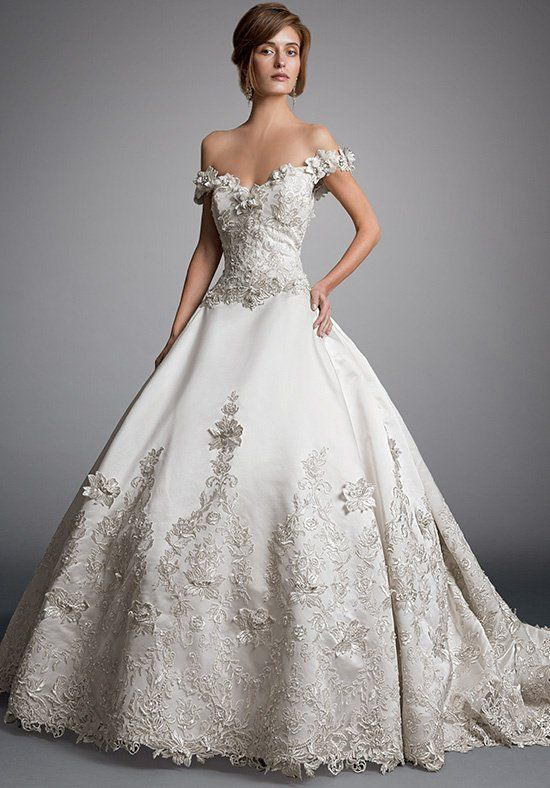 AMALIA CARRARA BY EVE OF MILADY 328 Wedding Dress - The Knot | Marry ...