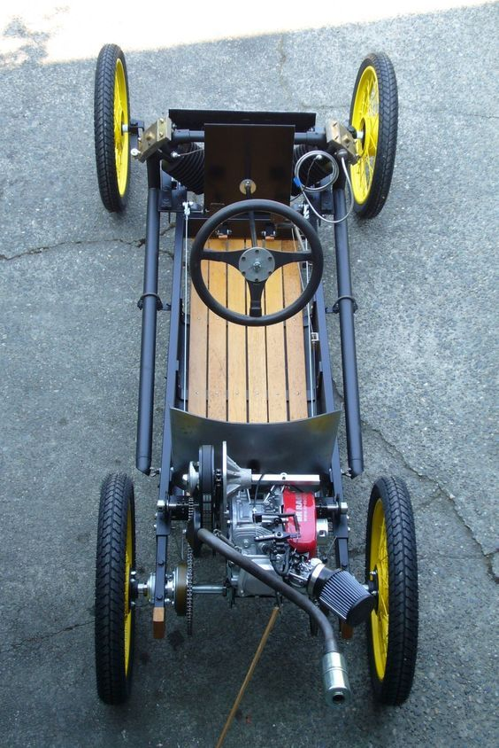 Let's Talk Cyclecars (With images) Pedal cars, Cyclekart