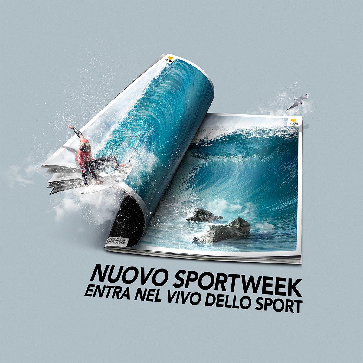 Sport week La Gazzetta dello Sport outdoor