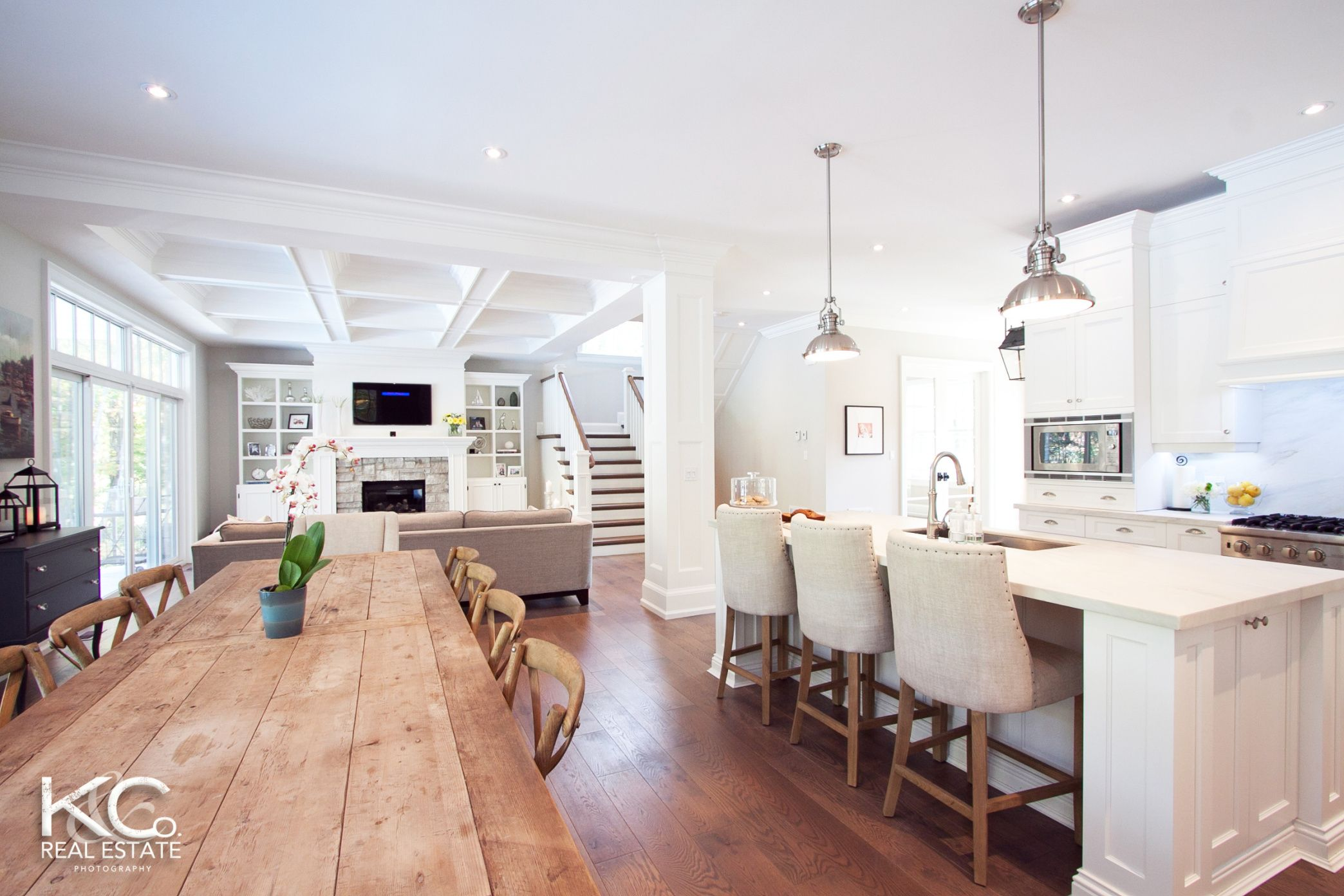 Building Dreams Open Concept Kitchen Living Room Home Kitchen Living