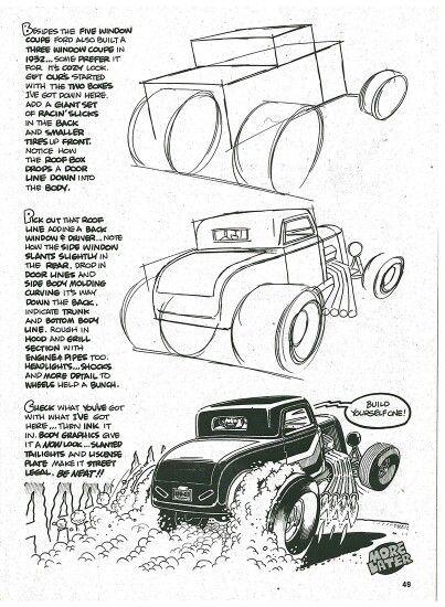 Resultado de imagem para george trosley How To Draw Cars cartoon ...