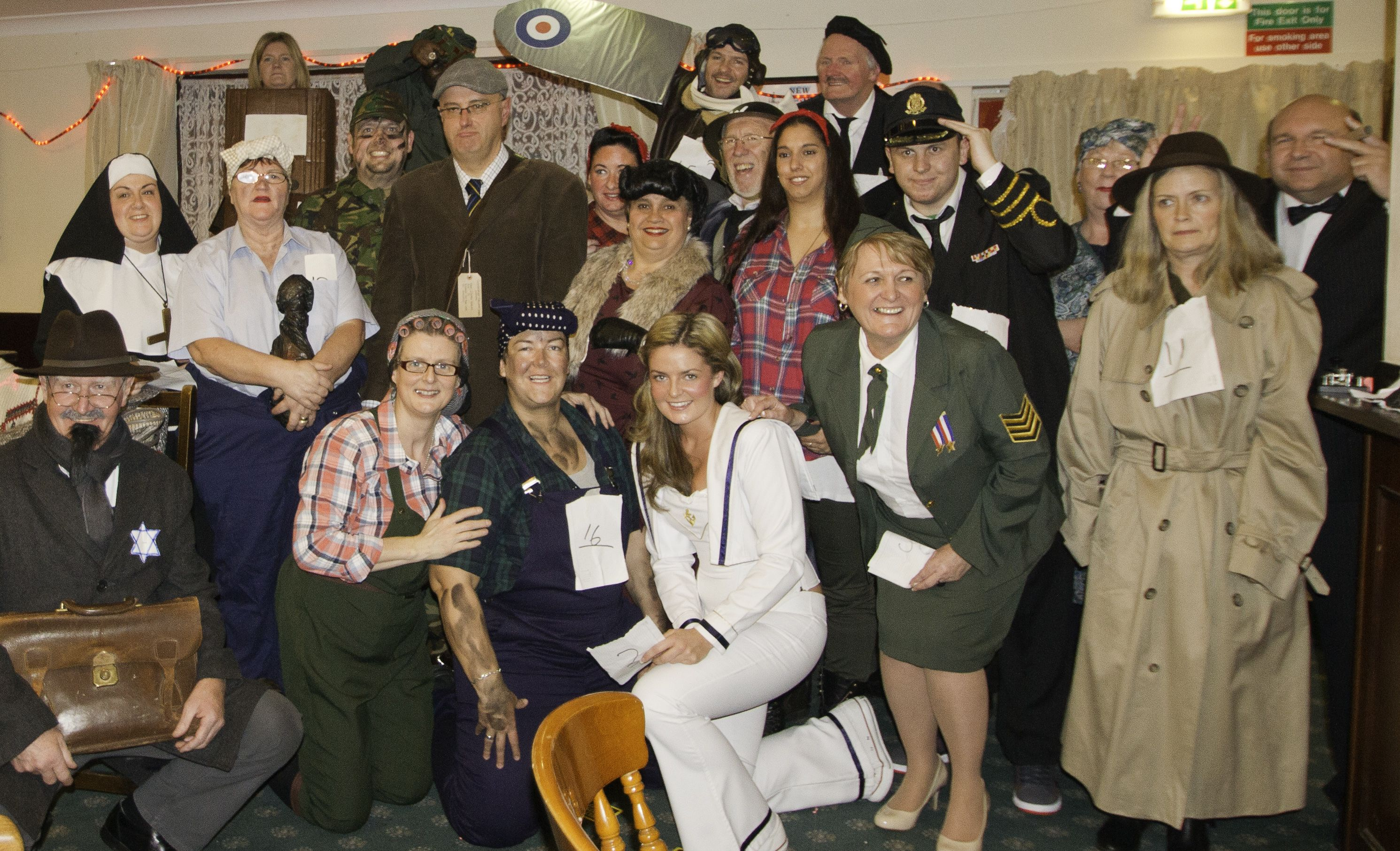 New Year Eve fancy dress as a World War 2 theme | Vintage ...