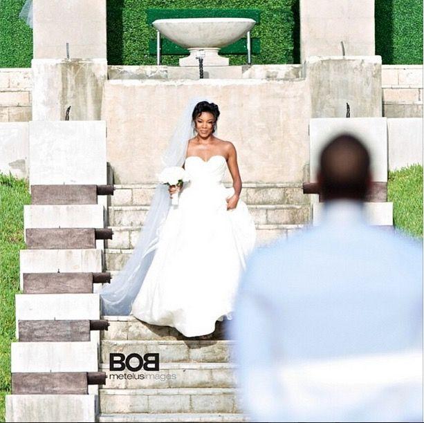Gabrielle union wedding gown google search wedding pinterest gabrielle union wedding gown google search junglespirit Gallery