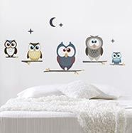 owl wall stickers!
