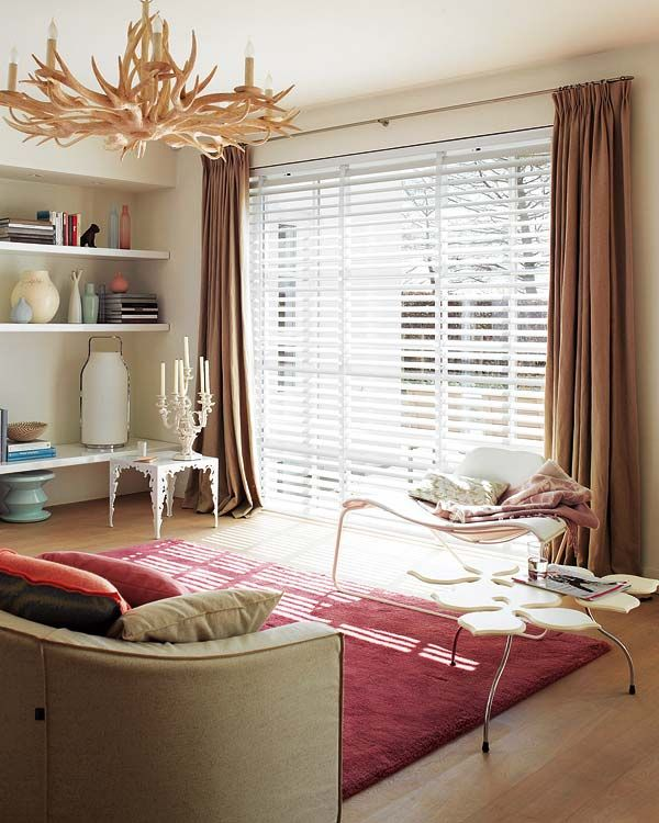 The Way We Are Gorgeous Rooms For Your Weekend Curtains With Blinds Home Curtains Over Blinds
