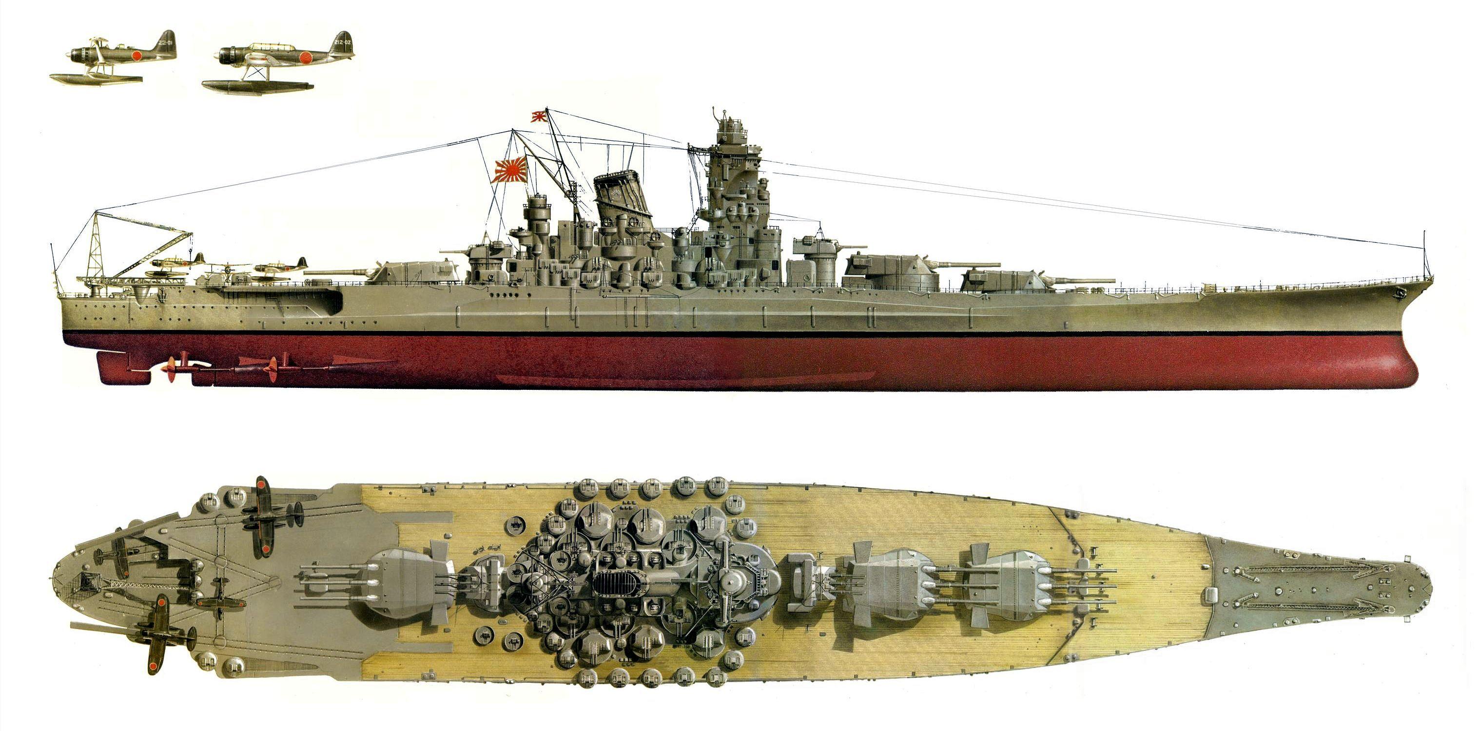 Yamato Battleship Wwii Wwwpixsharkcom Images