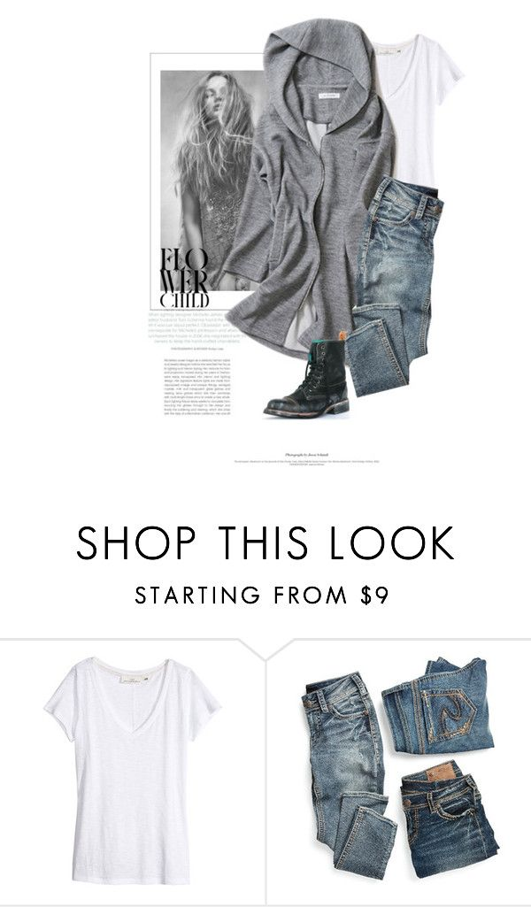 """Tout Simplement / Quite Simply"" by halfmoonrun ❤ liked on Polyvore featuring H&M, maurices and PS Kaufman"