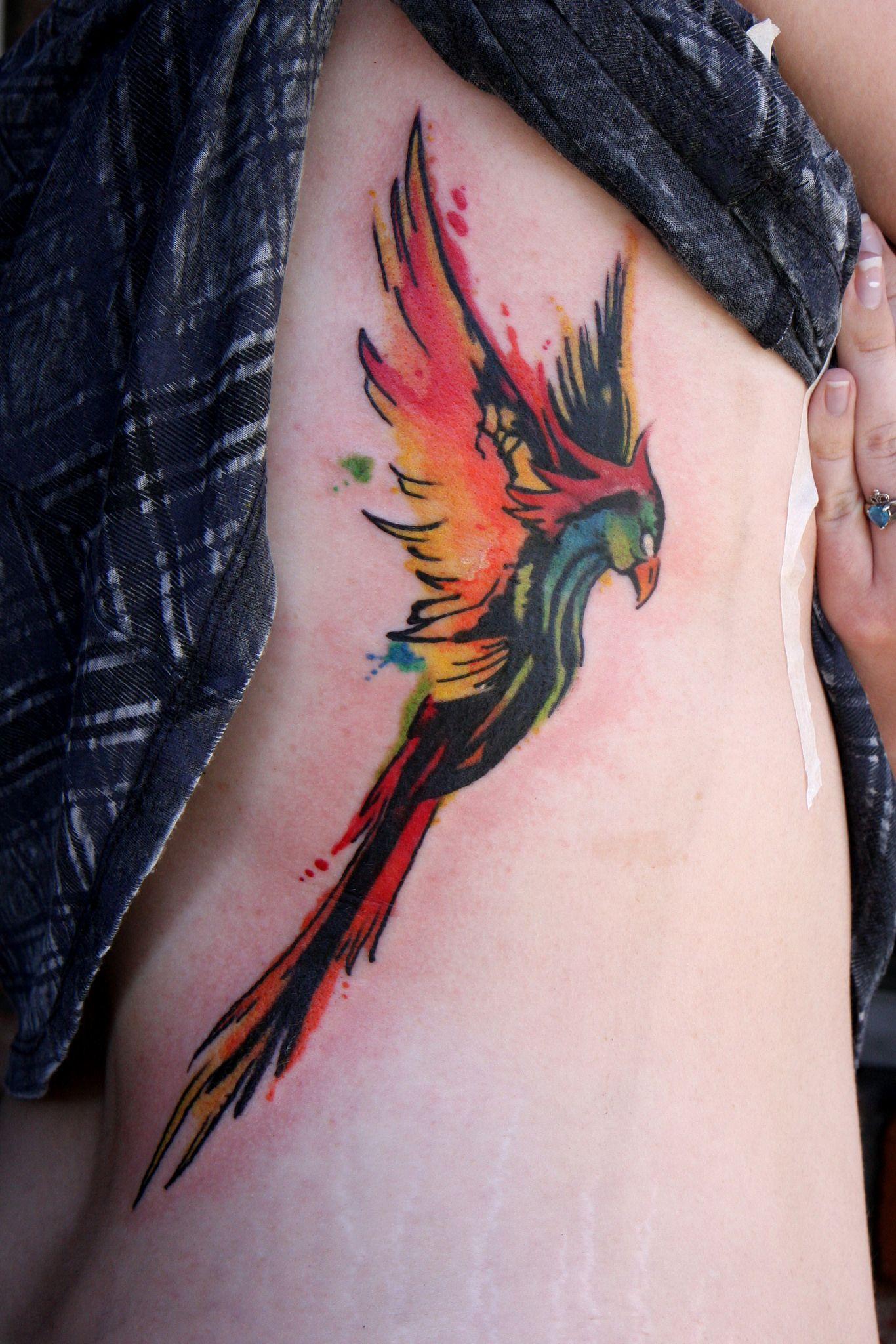 Phoenix Tattoofinder: Rising Phoenix From The Ashes Tattoo
