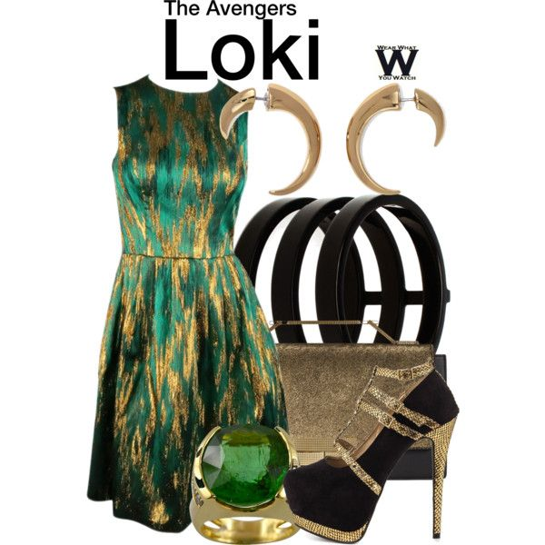 Inspired by Tom Hiddleston as Loki in 2012's The Avengers.