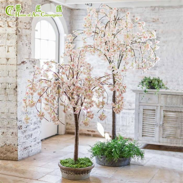 4ft Wedding Table Tree Centerpieces Artificial Cherry Blossom Tree Artificial Cherry Blossom Tree Weeping Cherry Tree Blossom Trees
