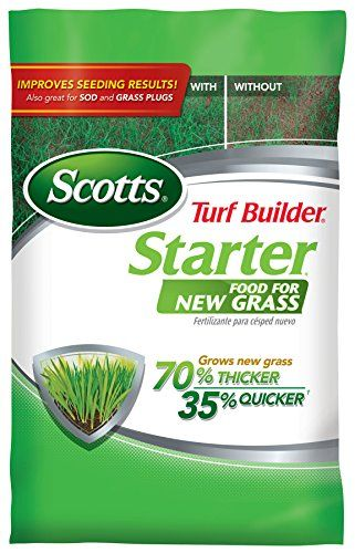 Scotts Turf Builder Starter Food For New Grass 1m 3 Lb Turf