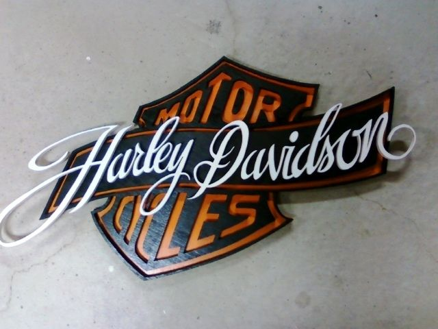 Love the font of Harley davidson