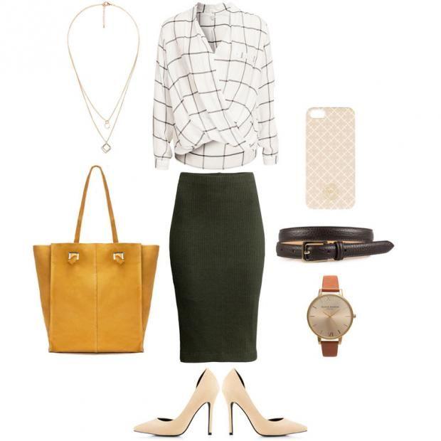 Jobbstil, kontorstil, antrekk, bukse, topp, skjerf, klokke, stiletter, veske, zara, nelly, outfit, mote, fashion