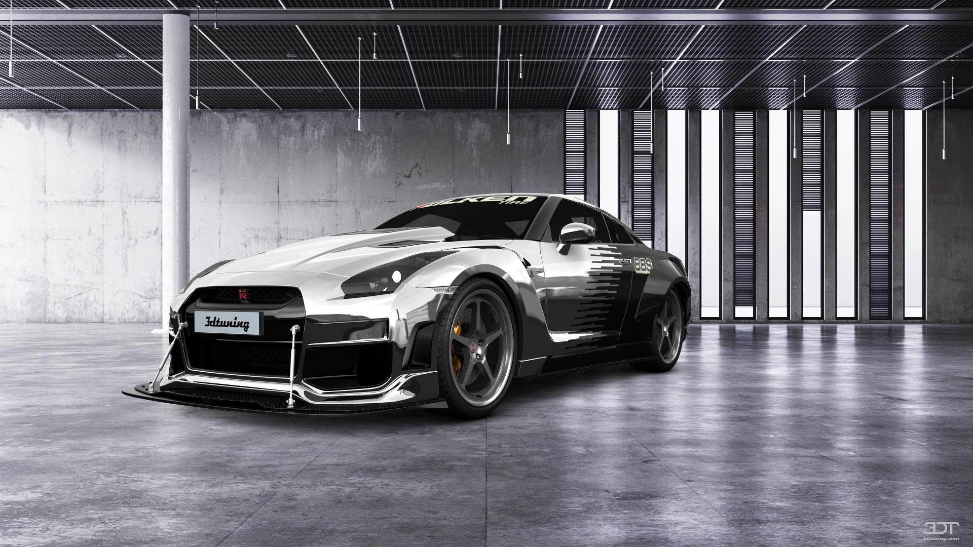 Checkout my tuning #Nissan #GT-R 2010 at 3DTuning ...