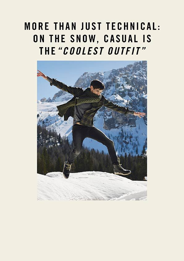 Winter 14 - Man Collection: Escape The Day. Find it out on: http://www.benetton.com/blog/2014/11/06/escape-the-day/
