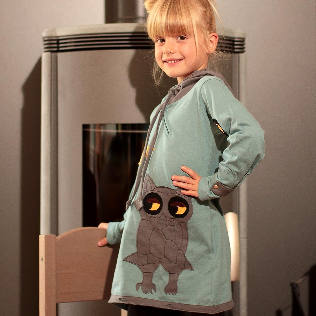 Robe originale pour petite fille