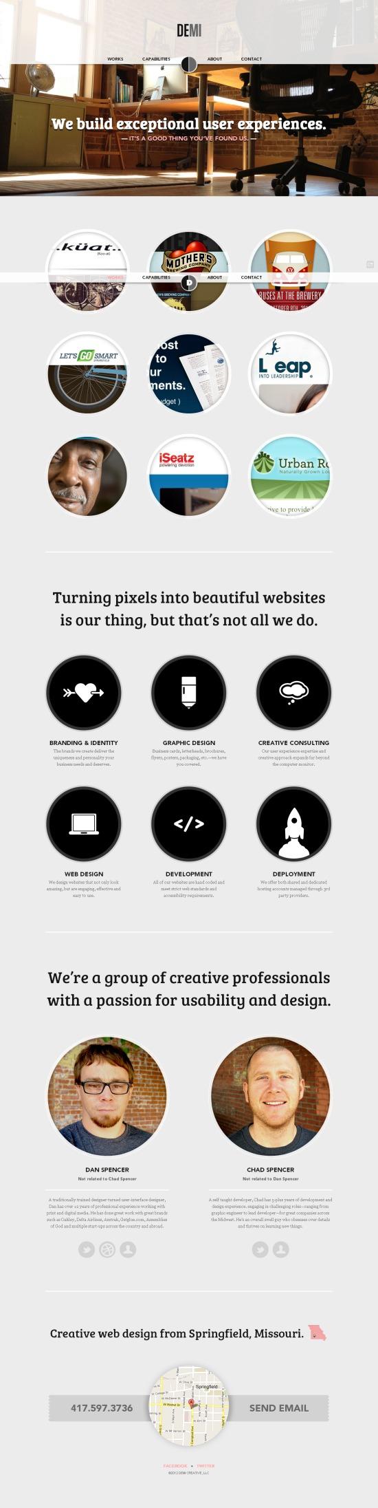 Http Demicreative Com Creative Web Design Web Design Beautiful Websites