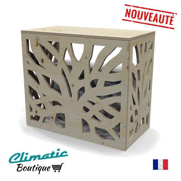 coffre climatisation en bois personnalisable - existe en ...