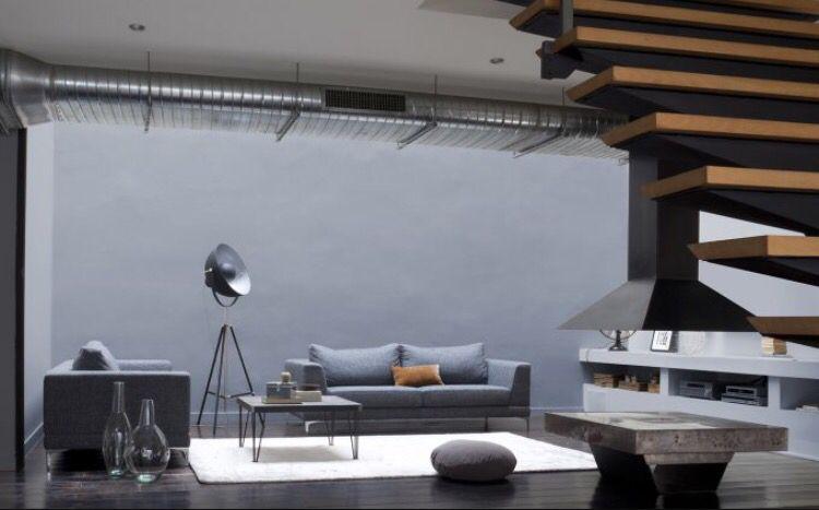 Ambiance industrielle Peintures Guittet Guittet Pinterest - peinture pour plafond fissure