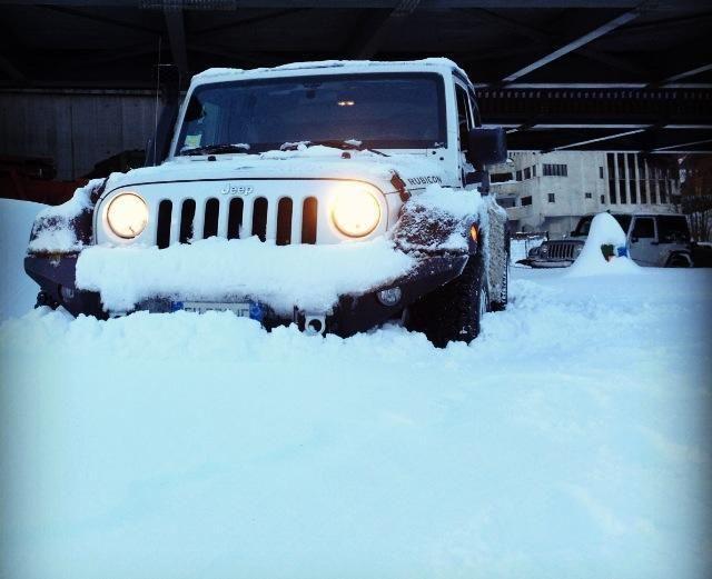 Snowed in... NOT!