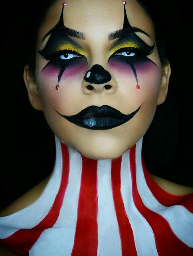 joker clown freakshow halloween pinterest maquillage. Black Bedroom Furniture Sets. Home Design Ideas
