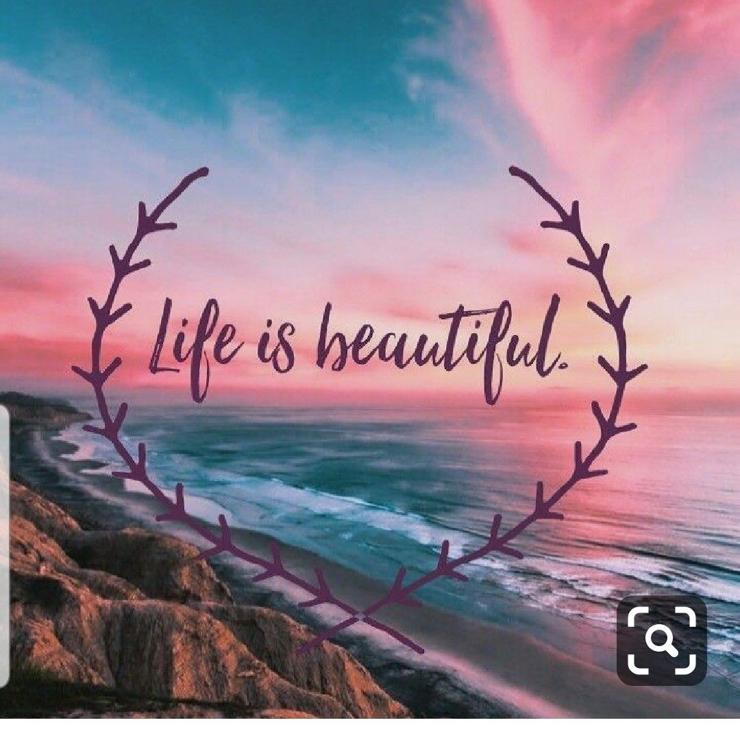 Pin by Stacy on Girly  Wallpaper quotes, Life is beautiful