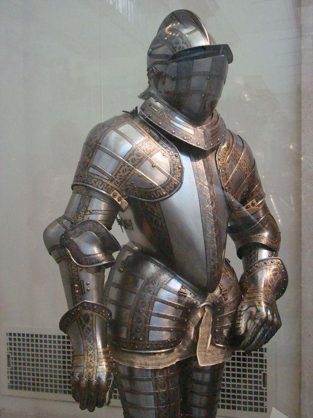 Renaissance armor  Burgonet helmet