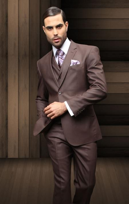 New 1920s Mens Suits and Sport Coats | Vests, Brown suits and Wool