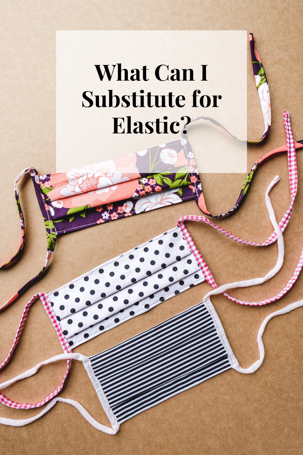 What Can I Substitute For Elastic Elastic Hair Ties Create A Face