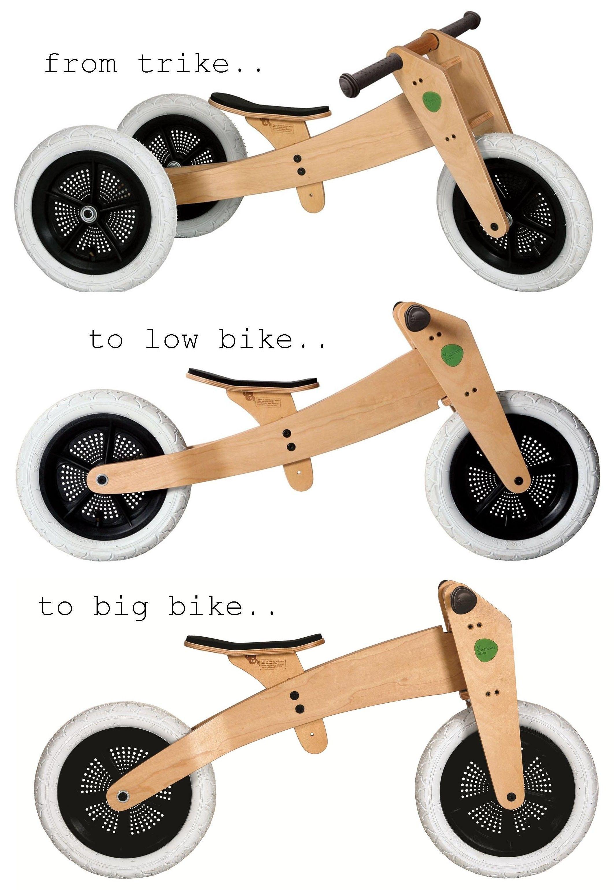 3 In 1 Wishbone Bike From Trike To Low Bike To Big Bike