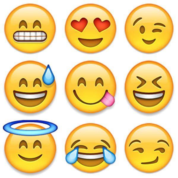 graphic relating to Emojis Printable identified as Pin de Cunning Annabelle em Emoji Printables Emoji, Emojis