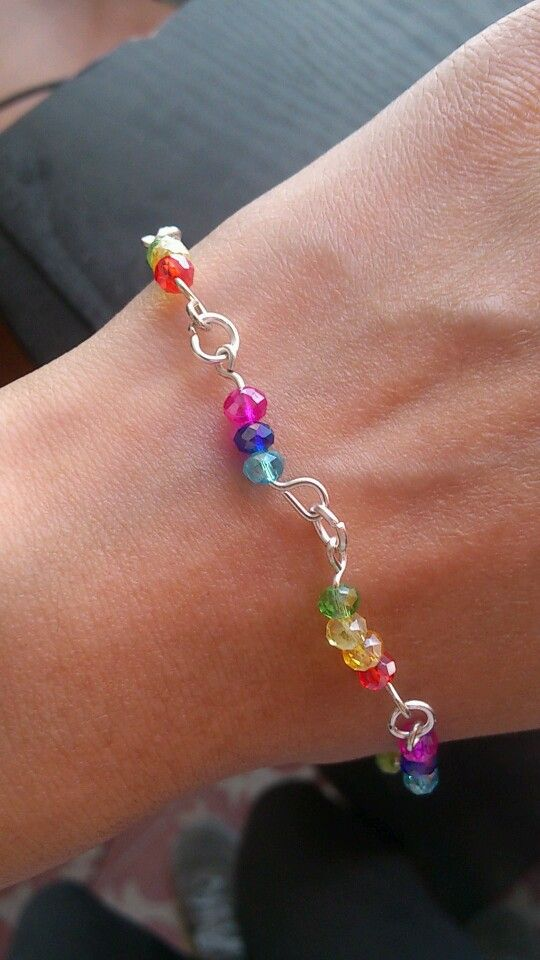 Pulsera arcoiris