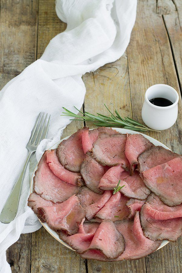 Photo of ▷ Roast beef classic recipe in a pan and in the oven My RI ….