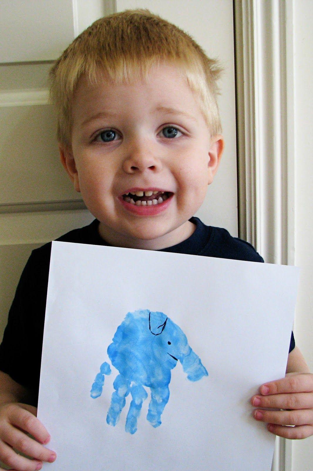 Letter E Elephant Preschool Theme