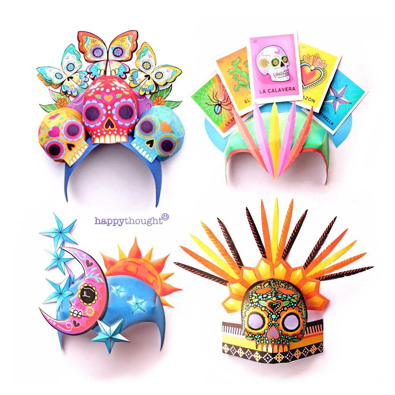 Printable Festival Headpiece Template Easy And Fun To Make Diy