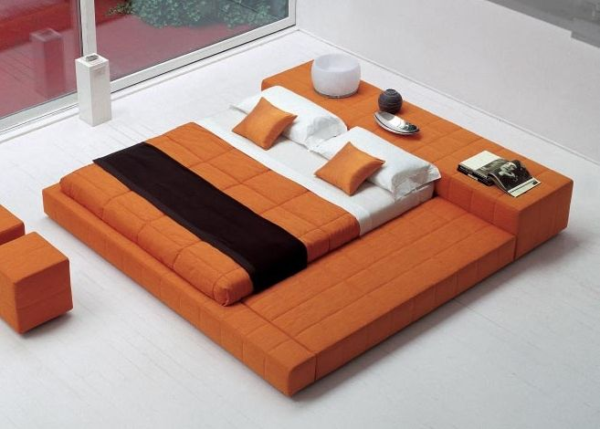 Minneapolis Modern Platform Bed Modern Upholstered Beds Modern Platform Bed Build A Platform Bed