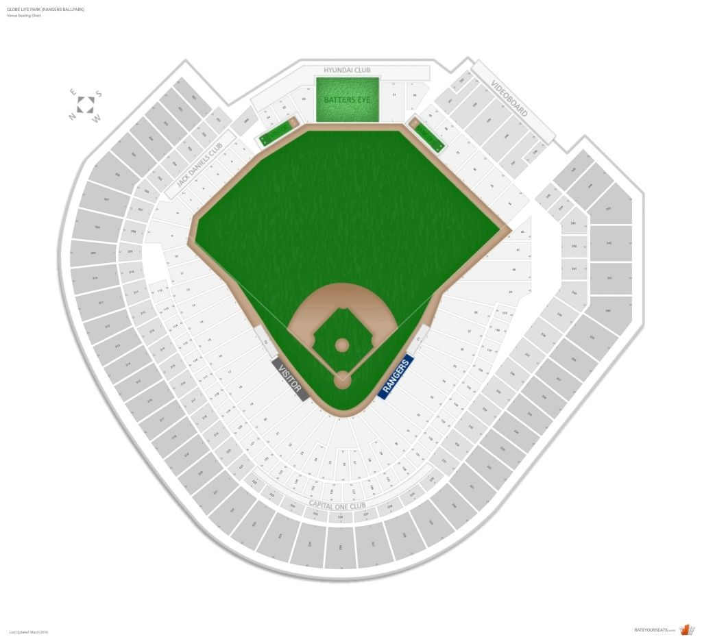 Dodger Stadium Detailed Seating Chart With Seat Numbers